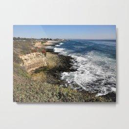 Coastline 2 Metal Print