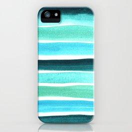 Beach colors iPhone Case