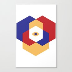 H E X | Eye Canvas Print
