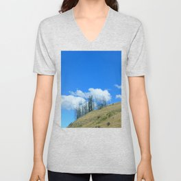 At The End Of The World Unisex V-Neck