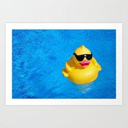 Cool Pool Art Print