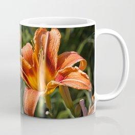 Orange Yellow Fire Lily Coffee Mug