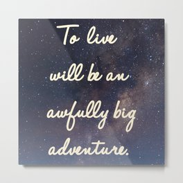 Big Adventure Metal Print