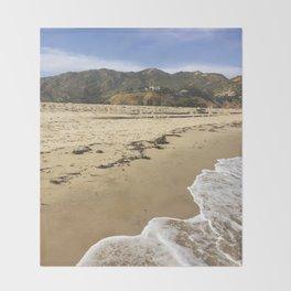Lost in Malibu Throw Blanket