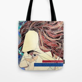 Adrien Stained Glass Tote Bag