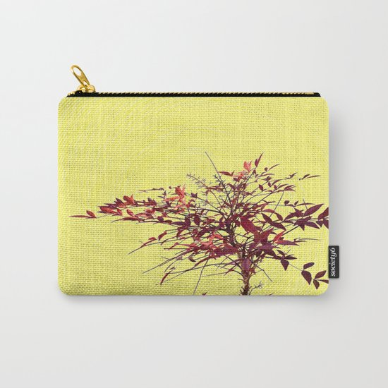 Spiral and Tree Carry-All Pouch