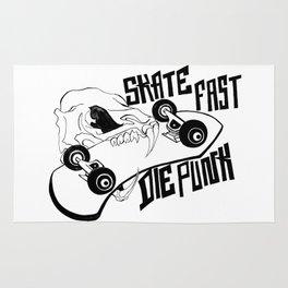 Rat Skull / Skate Fast / Die Punk Rug