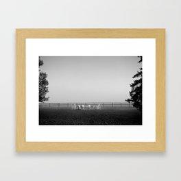 Another Misty Morning Framed Art Print