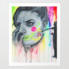 Painted Art Print