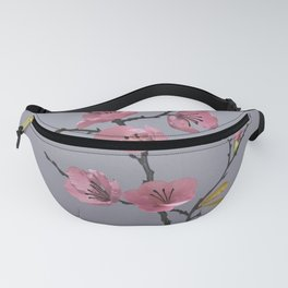 Flowering Pink Quince Fanny Pack