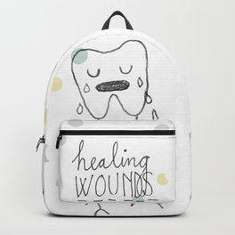 healing wounds Backpack