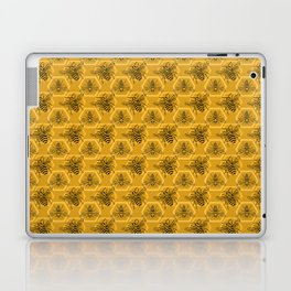 Honey Bees on a Hive of Hexagons Laptop & iPad Skin