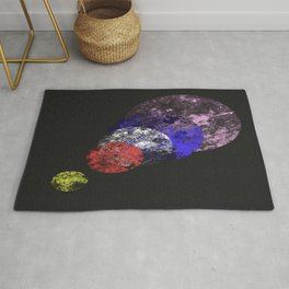 Aligned Universe - Space Abstract Rug