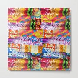 Gipsy Blanket Metal Print