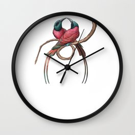 Northern Carmine Bee-eater (Merops nubicus) Wall Clock