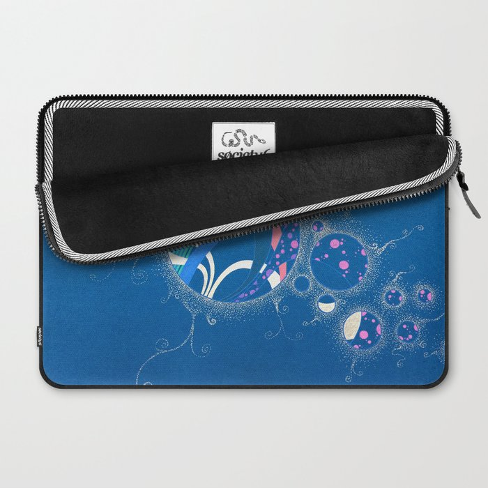SuperNova In Bubbles Laptop Sleeve