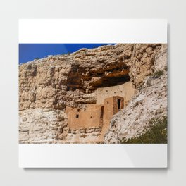 Montezuma's Castle in Arizona Metal Print