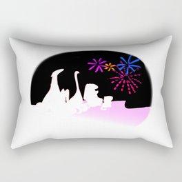 Fireworks in August Rectangular Pillow