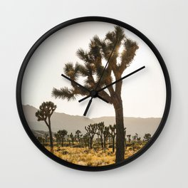 Joshua Tree (yucca palm) Wall Clock