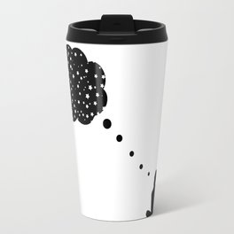 thinking about space Travel Mug
