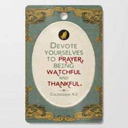 Prayer Cutting Board