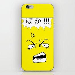 BAKA! iPhone Skin
