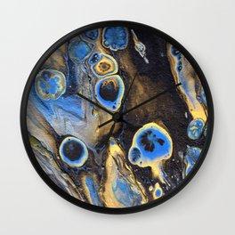 Dark Cosmos Wall Clock