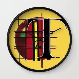 T-Scott Wall Clock