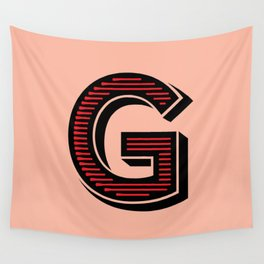 Letter G Wall Tapestry