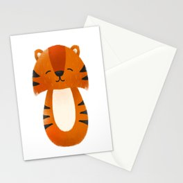 Tiger  Nursery Art Stationery Cards