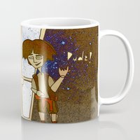 1989 Mugs featuring Bill & Ted's Excellent Adventure (1989) by niles yosira