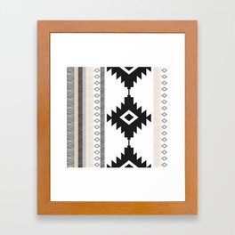 Pueblo in Tan Framed Art Print