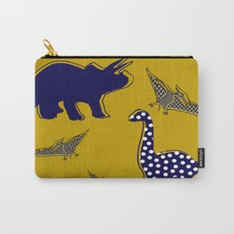 Dinosaur mustard Carry-All Pouch