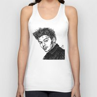 louis tomlinson Tank Tops featuring Louis Tomlinson by Hollie B