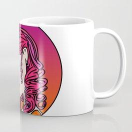 Girl in Pink Coffee Mug