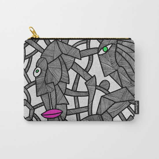- nobody's perfect - Carry-All Pouch