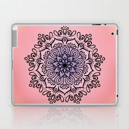 Baesic Sunset Traquil Mandala Laptop & iPad Skin