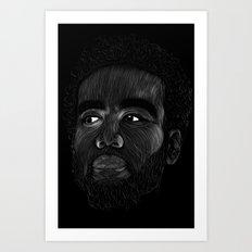 Ben Harper  Art Print