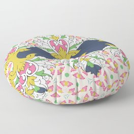Pink Lotus Floor Pillow