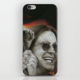 'Ozzy's Fire' iPhone Skin