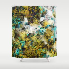 JAPANESSE DANCING Shower Curtain