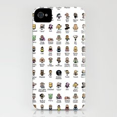 Butch McLogic's 8-Bit Guide to Gay Labels iPhone (4, 4s) Slim Case