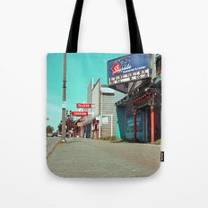 South Tacoma sidewalk Tote Bag