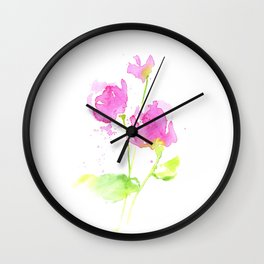 Pastell moment Wall Clock