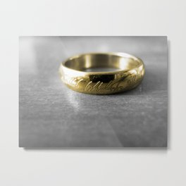 One to rule them All Metal Print