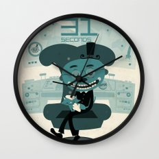I've been waiting for you, Mr. Bond Wall Clock