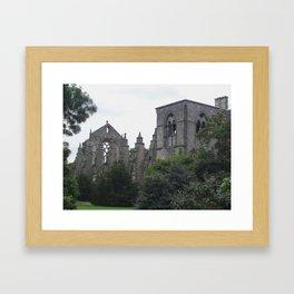 Holyroodhouse Abbey Framed Art Print