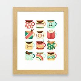 Coffee Coffee Coffee Coffee Coffee Framed Art Print