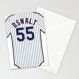 Corey Oswalt Jersey Stationery Cards