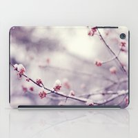 poem iPad Cases featuring poem of the air by Mary Carroll
